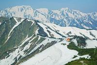 長野県 爺ケ岳から立山
