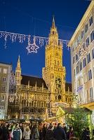ミュンヘン 新市庁舎 クリスマスマーケット