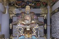 栃木県 陽明門の随身像(随神像)(平成の大修理完成後)