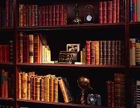 古書のある書棚