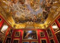 イタリア フィレンツェ パラティーナ美術館の展示室