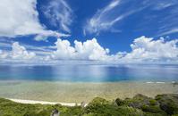 沖縄県 夏の与那国島 与那国ブルー ウブドゥマイ浜周辺