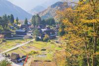 富山県 五箇山相の倉集落