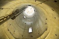 イタリア ピサの斜塔の内部