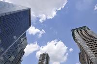 東京都 大崎駅再開発地区の高層ビル