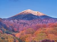 青森県 大岳と紅葉