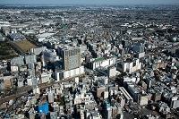 東京都 立川駅と立川市街地