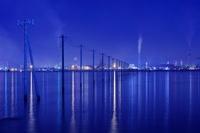 千葉県 江川海岸の夜景