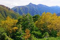 長野県 双児山から北岳