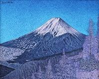 厳冬の富士