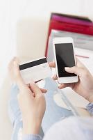 スマートフォンでクレジットカード情報を入力する