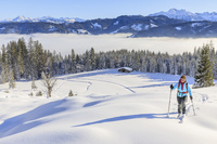 雪山トレッキング