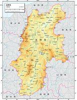 長野県 自然図