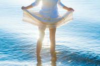 海に反射する光