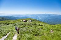 山形県 月山姥が岳休憩所とリフト