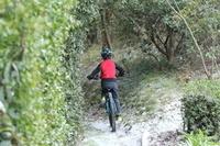 雪とサイクリング