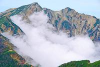 長野県 爺ケ岳から鹿島槍ヶ岳