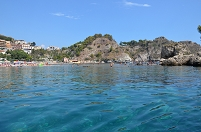 イタリア シチリア島 タオルミーナ マッツァーロビーチ