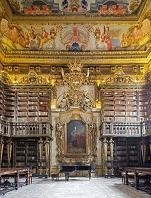 ポルトガル コインブラ コインブラ大学ジョアニナ図書館