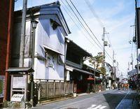 滋賀県 長浜の北国街道の家並