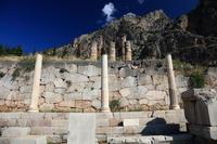 ギリシャ デルフィ古代遺跡