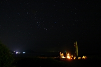 鹿児島県 奄美大島 手広海岸 ビーチキャンプ オリオン座
