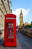イギリス ロンドンの電話ボックス