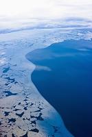 アメリカ合衆国 アラスカ 流氷