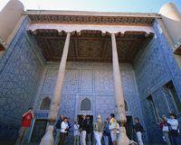 ウズベキスタン タシュハウリ宮殿