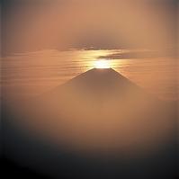 山梨県 富士山 富士川町高下から