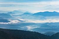 群馬県 朝の渋峠からの展望
