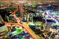 東京都 サンシャイン60から夜景