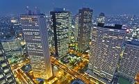 東京都 新宿 ビル群