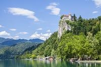 スロベニア ブレッド ブレッド湖とブレッド城