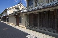 愛媛県 八日市護国の町並み 上芳我家住宅