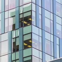 エクステリア ビルの窓