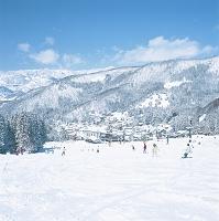 長野県 野沢温泉村 野沢温泉スキー場(長坂ゲレンデ)