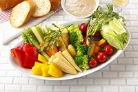 野菜盛りのバーニャカウダ