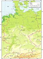ドイツ 自然図