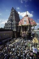 インド マドゥライのラタジャトラ(山車祭り)