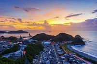 台湾 早朝の南方澳漁港