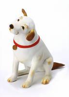 犬 (粘土クラフト クレイアート)