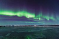 カナダ 凍りついたクルアニレイク