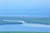 北海道 フレシマ湿原の湖沼とエゾシカ