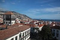ポルトガル マデイラ島 フンシャル 町の展望