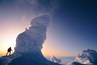 南極大陸 エレバス山