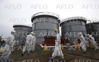福島第1原発の汚染処理水、海洋放出を決定