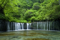 長野県 軽井沢の滝