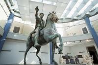 イタリア ローマ マルクス・アウレリウスの騎馬像
