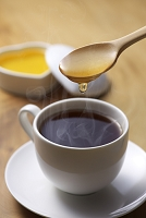 コーヒーとハチミツ